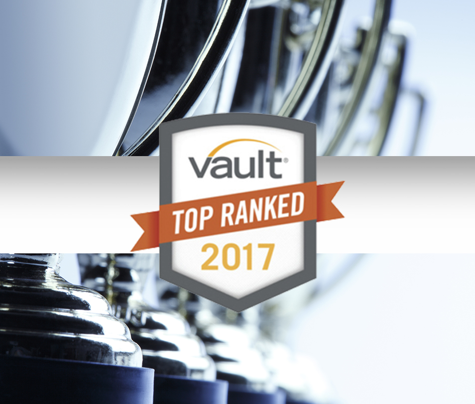 Williams & Connolly Named #1 Law Firm in D.C. by Vault Guide to the Top 100 Law Firms
