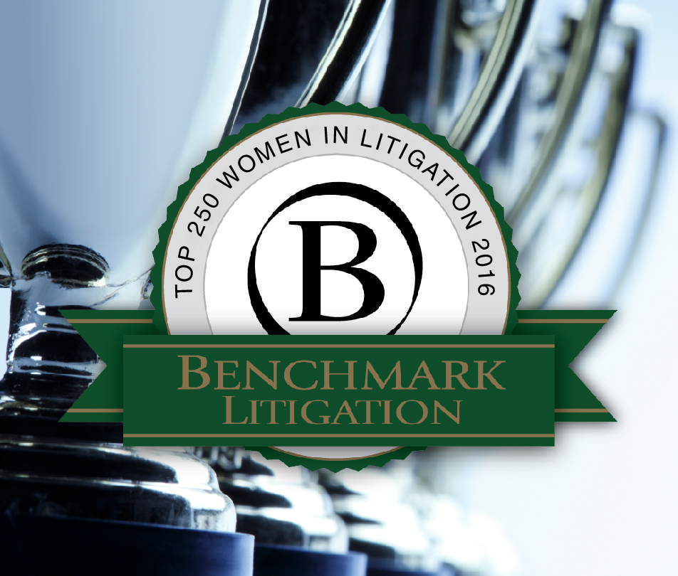 Benchmark Litigation Names Three Williams & Connolly Partners to List of Top Women in Litigation